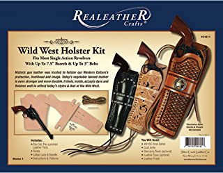 Realeather Crafts C4211-00 Wild West Holster Kit