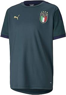 PUMA jongens t-shirt FIGC Training Jersey Jr