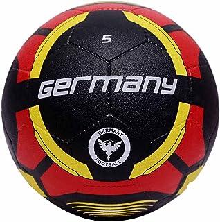 كرة قدم للرجال RM_GERMANY_5 من فيكتور - أحمر/أسود، 5