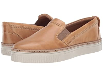 Lucchese After-Ride Slip-On (Tan Burnished) Women