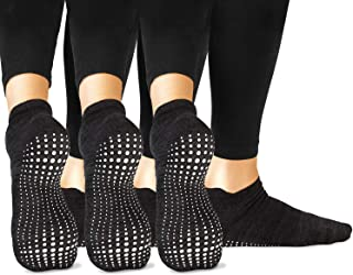 Grip Socks - Yoga Pilates Barre Ballet Non Slip Non Skid Maternity with Grippers