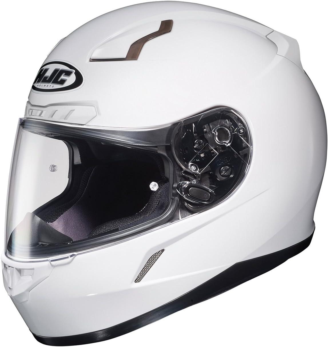 HJC 824-149 CL-17 Full-Face Motorcycle Helmet (White, 5X-Large)