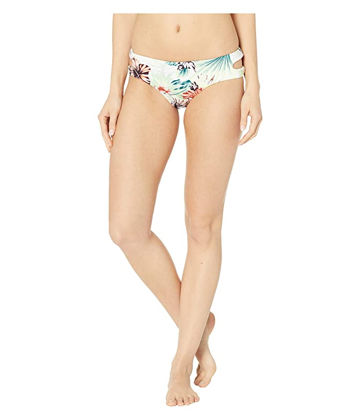THE BIKINI LAB Tropical Oasis Cut Out Hipster (White) Women
