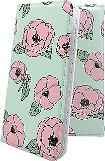 MADOSMA Q601 ケース 手帳型 かめりあ 花柄 花 フラワー マドスマ 手帳型ケース 和柄 和風 日本 japan 和 madosmaq601 おしゃれ