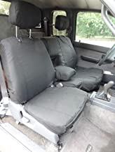 Durafit Seat Covers Made to fit 1995-2000 Tacoma 60/40 Split Bench Custom Seat Covers. Gray Automotive Twill