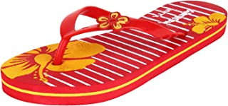 Sporter Women Red-341 Flip-Flops & Slippers