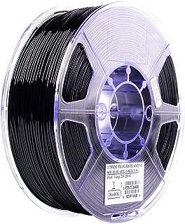 (solidblack) - Esun Petg Filament 1.75mm Solid Black 1kg2.2lb Spool For Makerbot, Reprap, Up,