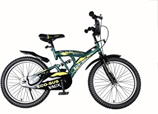 """Vaux Bicycle for Kids- Vaux Eco-Sus Sport 20T Kids Bicycle for Boys. Ideal for Cyclist with Height (3'11"""" – 4'3"""") – Green."""