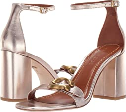 Maya 85 mm. Sandal with Signature Buckle