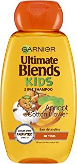 Garnier Original Remedies Ultimate Blends,Champú suave para niños con albaricoque, 250ml, pack de 6