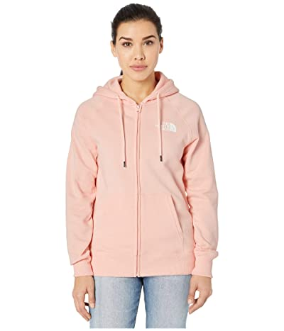 The North Face Half Dome Full-Zip Hoodie (Impatiens Pink) Women