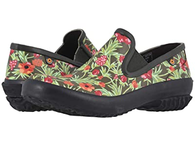 Bogs Patch Slip-On Vine Floral (Dark Green Multi) Women