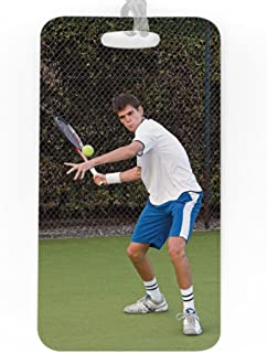 Tennis Luggage & Bag Tag   Custom Photo   No Personalization on Back   LARGE