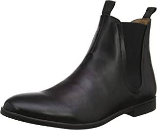 Mens H by Hudson Atherstone Leather Smart Work Office Ankle Chelsea Boot