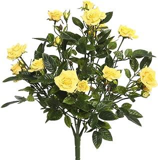 Vickerman FL171105 Floral Rose Bush