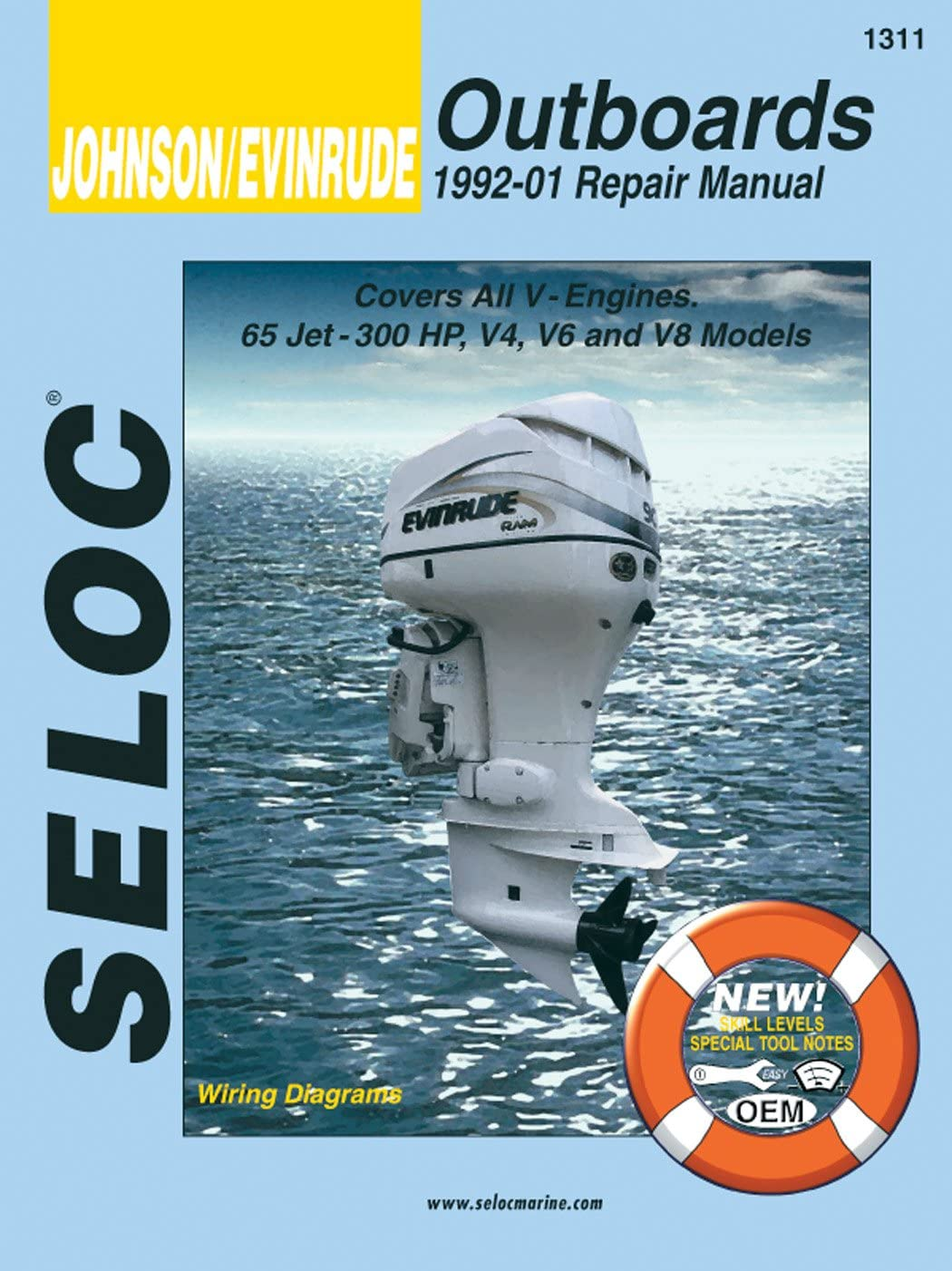 Sierra International Seloc Mail order cheap Manual Outb Johnson Surprise price 18-01311 Evinrude