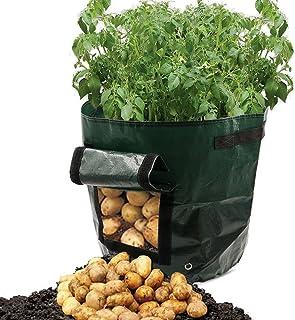 DIY Potato Grow Planter PE Cloth Planting Container Bag Thicken Garden Pot