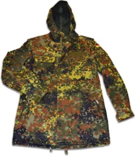 New German Flecktarn Camouflage Parka