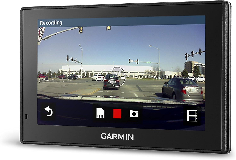 Garmin Driveassist 51 Na Lmt S Mit Lebenslangen Karten Verkehr Dashcam Kamera Unterstützte Alarme Lebenslange Karten Verkehr Live Parken Intelligente Benachrichtigungen Sprachaktivierung Elektronik