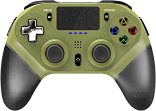 $50 » KJYT Wireless Controller for Playstation 4, Programmable Game Controller with Dual Vibration/Touch Pad/Six-axis Sensor/Tur...