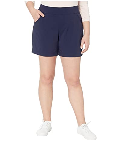 Columbia Plus Size Anytime Casualtm Shorts (Dark Nocturnal) Women