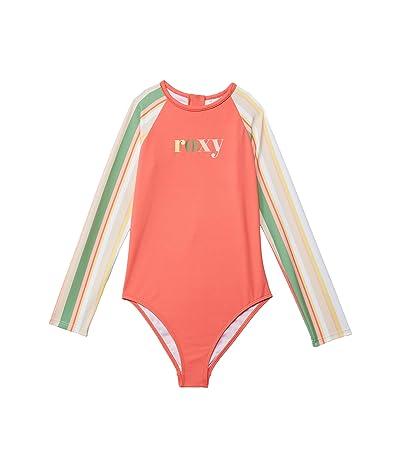 Roxy Kids Stripy Sky Long Sleeve One-Piece (Toddler/Little Kids/Big Kids)