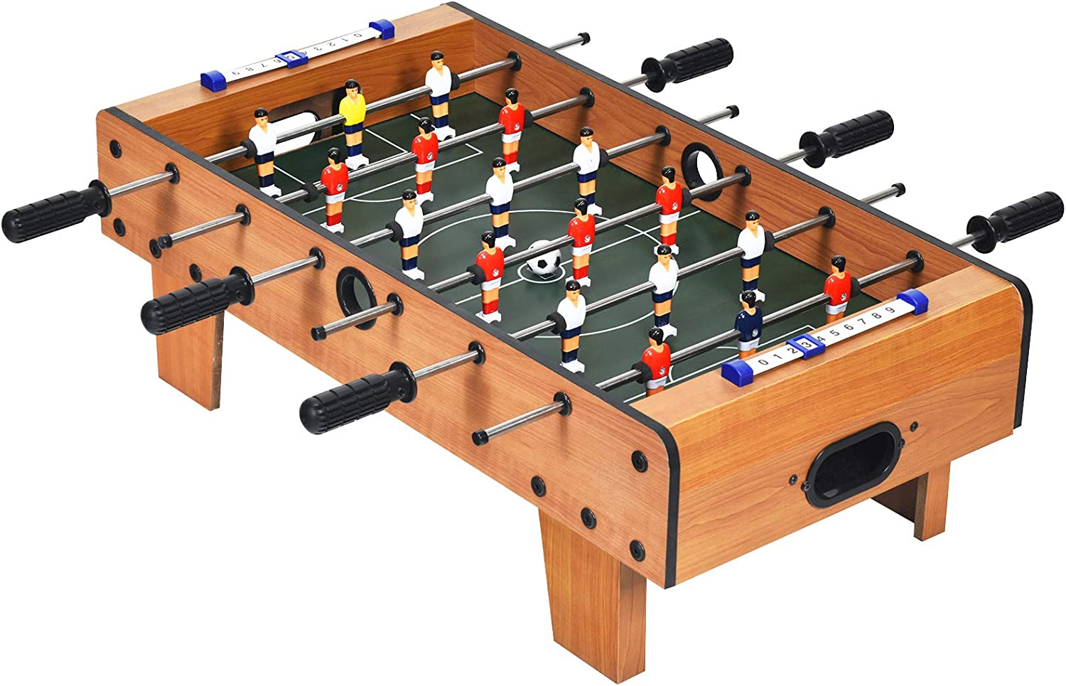Goplus Mini Foosball Table 27in Soccer New item Game 2 Limited price sale w Football