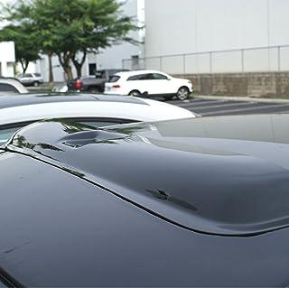 Tuningpros Window Visor Compatible With 1997-2003 Jaguar Jaguar XJ6 XJ8 XJ12 DGWV2-697 Outside Mount Deflector Rain Guard Dark Smoke 4 Pcs Set