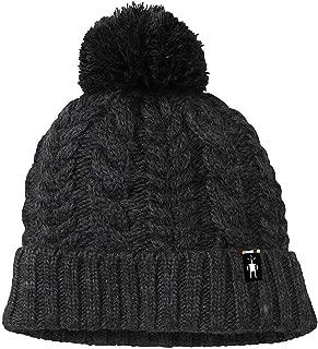 Unisex Ski Town Hat - Merino Wool Pom Beanie for Men and Women