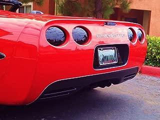 C5 Corvette Molded 5-Piece Tail Light Blackout Kit