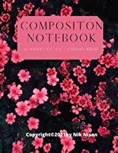 Composition Notebook: Aesthetic College Ruled, 110 pages - Stylish Classic Journal Notebook for Home Work Office Business ...