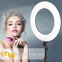 VILTROX 45W Bi-Color Ringlight Ring Light with 75