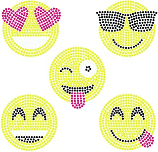 Large Smiley Face Iron On Transfers