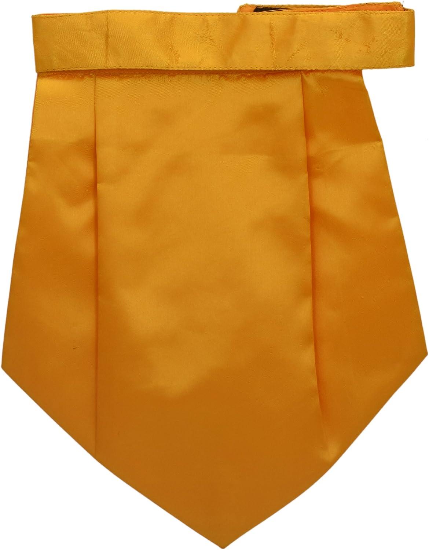 Men's Cravat Tuxedo Party Couture Tie Mustard Neck Accesories for him