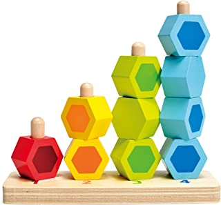 Hape E0504B Counting Stackers