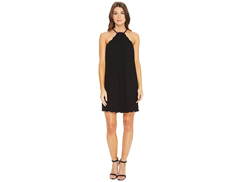 Trina Turk Vine Dress (Black) Women