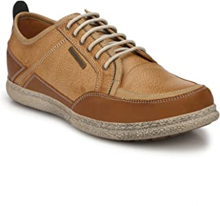 Alberto Torresi DOMNATO Camel+Whisky+Brown Casual Shoes