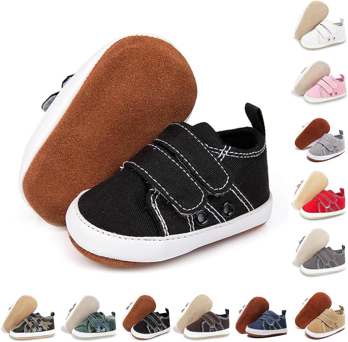Boston Mall BENHERO Baby Boys Girls Shoes Oakland Mall Leathe 100% Infant Canvas Sneakers