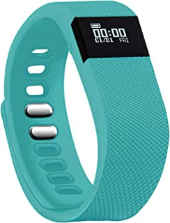 Teslasz Fitness Tracker, Sleep Monitor Calorie Counter Pedometer Sport Activity Tracker for Android and iOS Smart Phone (T...