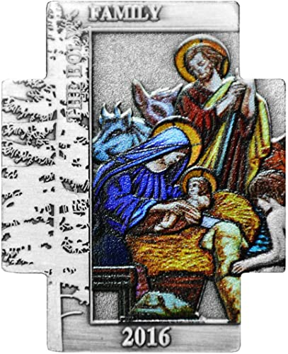MCI-MINT Kreuzmünze Heilige Familie - 2016 - Kupfer Versilbert