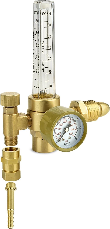 "1//4/"" oxygen gas regulator-argon-co2-welding Manometro 0-6 bar"