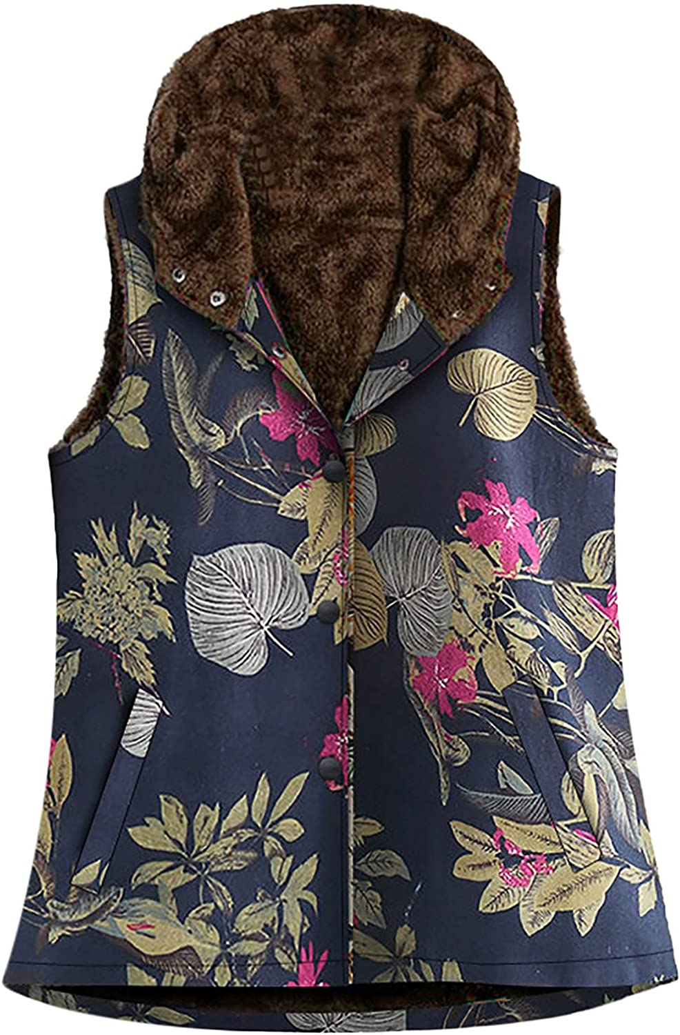 Womens Tops In stock Weekly update Fall Clothes Ladies Cotton Velv and Linen Print Plus
