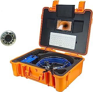 HBHYQ Endoscopio de Tubo de Pantalla Grande de 9 Pulgadas, cámara de inspección de Cuentas, Detector Interno de tubería, c...