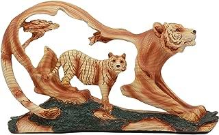 Ebros Crouching Bengal Tiger Statue 12