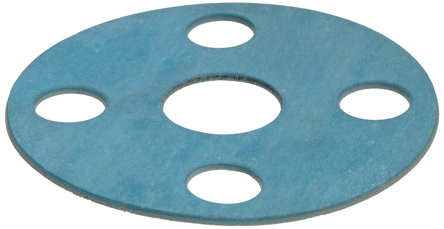 USA Sealing Full Face Silicone Rubber Flange Gasket for 6 Pipe 1//8 Thick Class 150