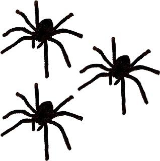 Riesen Tarantel Vogelspinne Spinne schwarz Spider Tarantula Deko Horror Fell