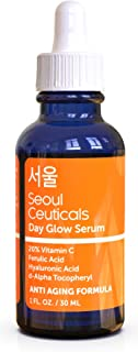 Korean Skin Care K Beauty - 20% Vitamin C Hyaluronic Acid Serum + CE Ferulic Acid Provides Potent Anti Aging, Anti Wrinkle Korean Beauty 1oz