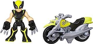 Playskool Heroes Marvel Super Hero Adventures Wolverine Figure with Claw Racer Vehicle