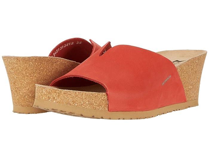 Mephisto  Lisane (Coral Sandalbuck) Womens  Shoes