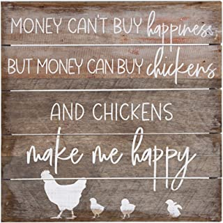 Sincere Surroundings PET14128 Chickens - 8 x 8, Gray